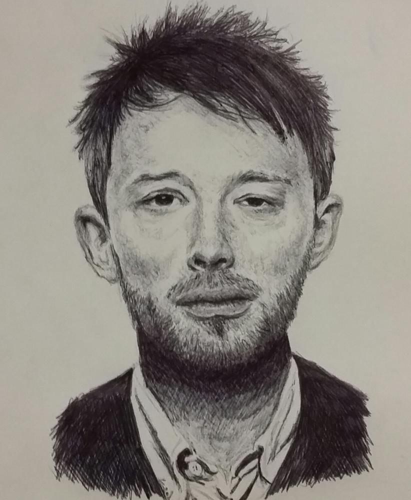 Thom Yorke by Goonertay